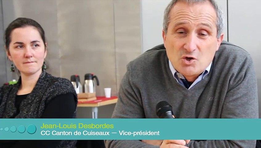 Des témoignages d'élus sur la DDmarche : des changements dans l'organisation de la communauté de communes