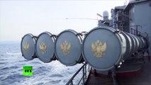Des navires de guerre russes croisent près des côtes syriennes