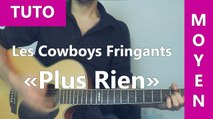 Plus Rien - Les Cowboys Fringants - TUTO Guitare