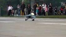 RC Jet F-1Super Hornet Gas Turbine Jet - Flight and Crash Landing  Hobby And Fun