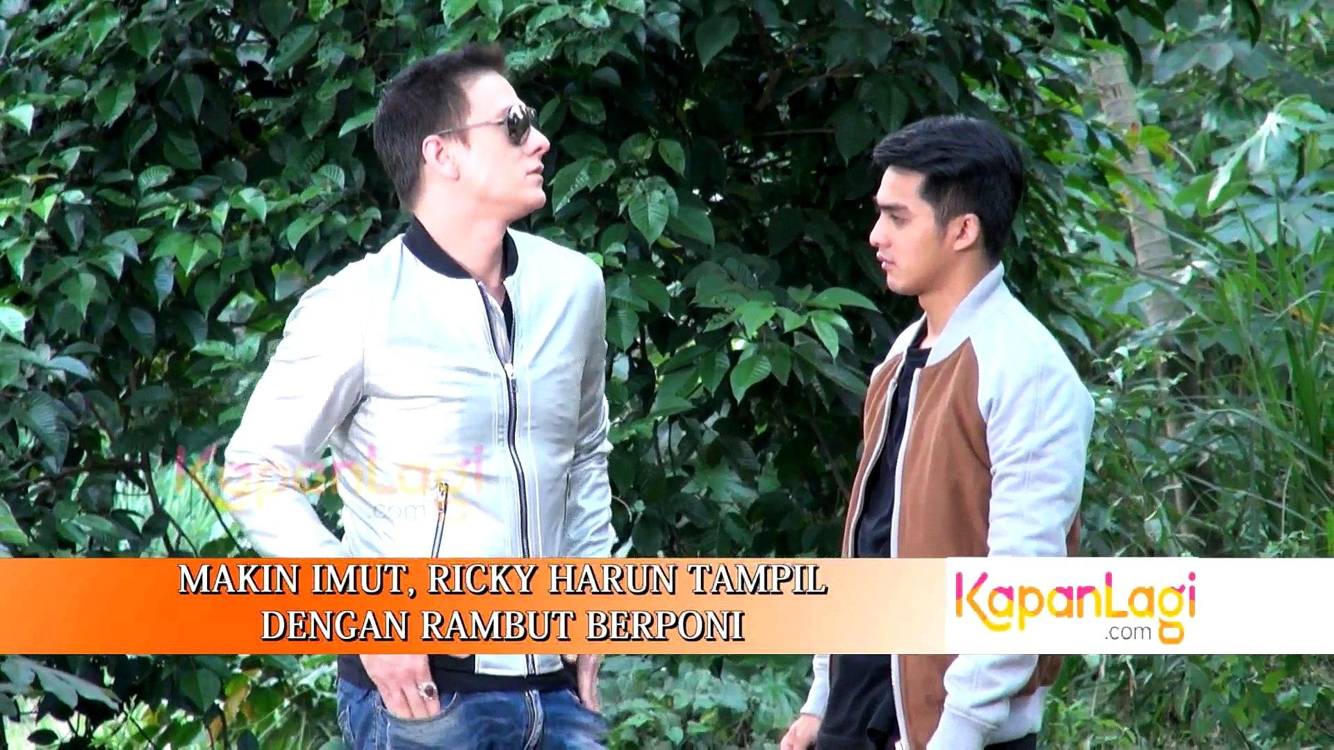 Makin Imut Ricky Harun Tampil Dengan Rambut Berponi Video Dailymotion