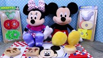 MICKEY MOUSE Clubhouse Disney Melissa & Doug Wooden Sandwich Making Set Minnie Mouse Picni