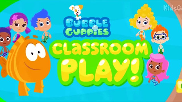 Bubble Guppies Cartoon Game - Classroom Play ! Bubble Guppies Full Episodes - Bubble Guppies Nick J