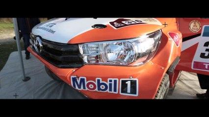 Toyota Hilux Dakar 2016 teaser
