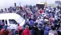 Así fue el enfrentamiento en Conga consejero regional fue herido por la policía en Conga