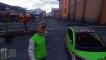 GTA 5 Online Funny Moments - BMX Bike Fun, Wack-a-Bike Mini Game, Chipotle! (Gmod Transiti