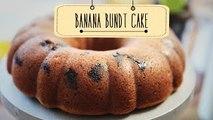 Banana Bundt Cake | Banana Cake Recipe | Beat Batter Bake With Priyanka