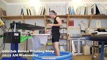 Brian gets fried! - Sunshine Cameo - The Screenprinters Episode 24