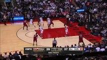 Dwyane Wade Freezes Terrence Ross  Heat vs Raptors  January 22 2016  NBA 2015-16 Season