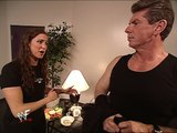 Stephanie McMahon and Vince McMahon Backstage Segment