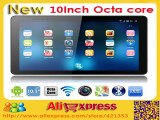 New 2015 Allwinner A83 Octa Core 10 inch Tablet PC Android 4.4 OS Dual Camera Bluetooth WIFI HDMI WiFi 1GB/16GB ROM+Gifts-in Tablet PCs from Computer