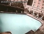 Japan 8 9 Earthquake ~ Rare video of Earthquake at pool, Sunami Waves create & Thrash Everything Biggest Earthquakes