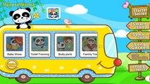 Едем на машинке и учим АНГЛИЙСКИЙ алфавит с ПАНДОЙ : My ABCs by BabyBus - HD