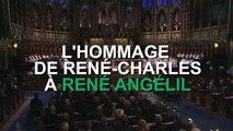 René-Charles rend un hommage touchant à René Angélil