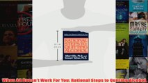 Download PDF  When AA Doesnt Work For You Rational Steps to Quitting Alcohol FULL FREE