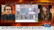 Dr. Shahid MAsood telling How Indian sims become off in Pakistan but Afghan sims on