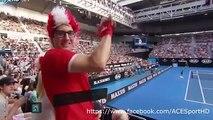 Stanislas Wawrinka vs Radek Stepanek ( Australian Open 2016 )