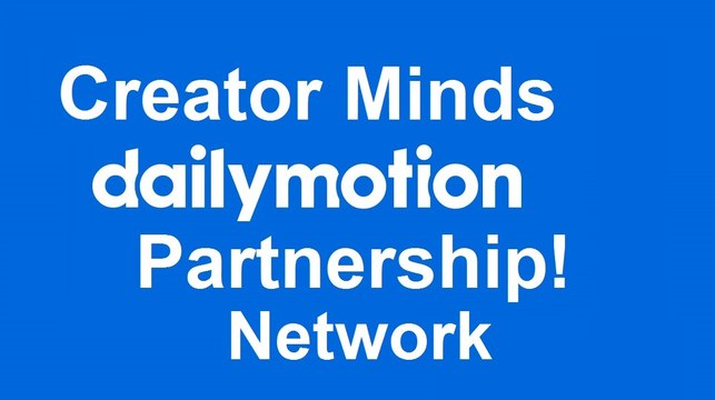 Creator Minds | YDLNetwork Dailymotion Partnership Intro