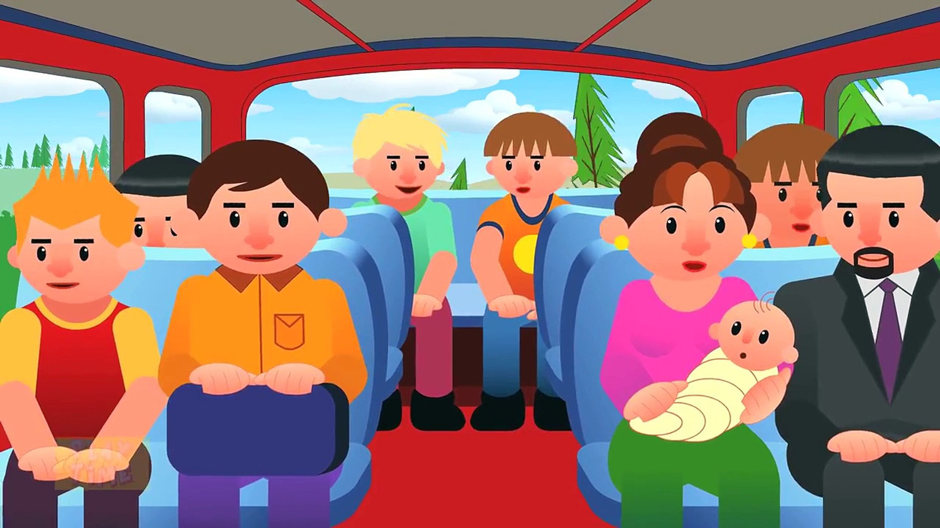 Wheels On The Bus Dailymotion Video