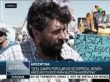 Argentina: movimientos sociales exigen la liberación de Milagro Sala