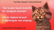 AU CLAIR DE LA LUNE Comptines Chansons pour enfants Paroles en français les enfants de chansons en anglais tran