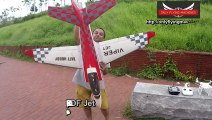 Funny Jet Blast on Face and High speed low Passes RC Viper Jet  Hobby And Fun