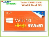 Original Teclast X80HD Dual Boot Tablet PC 8 inch IPS Z3735 Quad Core 2GB RAM 32GB ROM 2MP HDMI Bluetooth Win10 Android 4.4-in Tablet PCs from Computer