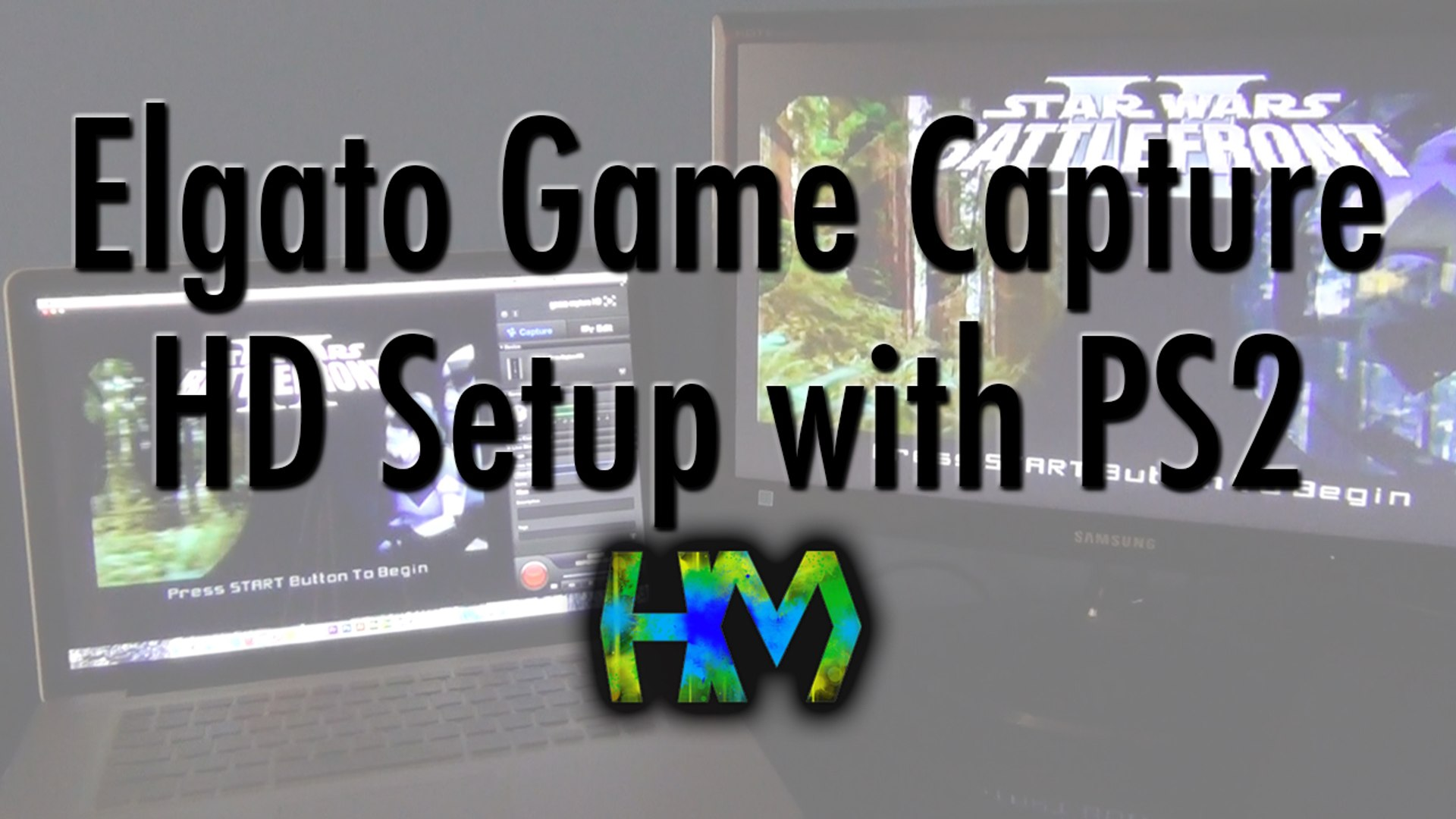 Elgato Game Capture HD Setup with PS2 and Mac