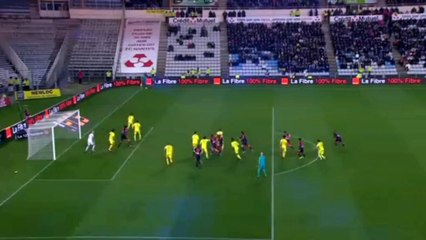 Nantes 2-2 Bordeaux Own Goal Lorik Cana
