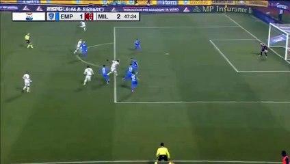 Empoli 1-2 AC Milan  Goal Giacomo Bonaventura ~