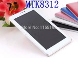 Super slim!!!cheap7&#39-Android 4.2+512MB/4GB+Dual Core/Camera+GPS+Bluetooth+WIFI+1024*600+MTK8312 3G dual sim phone call tablet pc-in Tablet PCs from Computer
