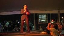 Franz Goovaerts sings 'A Little Less Conversation' Elvis Week 2008