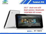 Free Shipping Tablet PC 10 inch Quad Core 1GB RAM 8GB/16GB 10.1 Inch Allwinner A33 Dual Camera 1024*600 Capacitive Tablets PC-in Tablet PCs from Computer