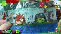 Angry Birds игрушка и Kinder Surprise [Конфитрейд]/Surprise Eggs ANGRY BIRDS