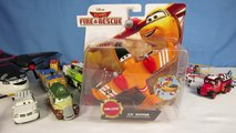 DISNEY PLANES FIRE AND RESCUE LIL DIPPER CAD SPINNER RYKER DUSTY CROPHOPPER PLANE COLLECTI