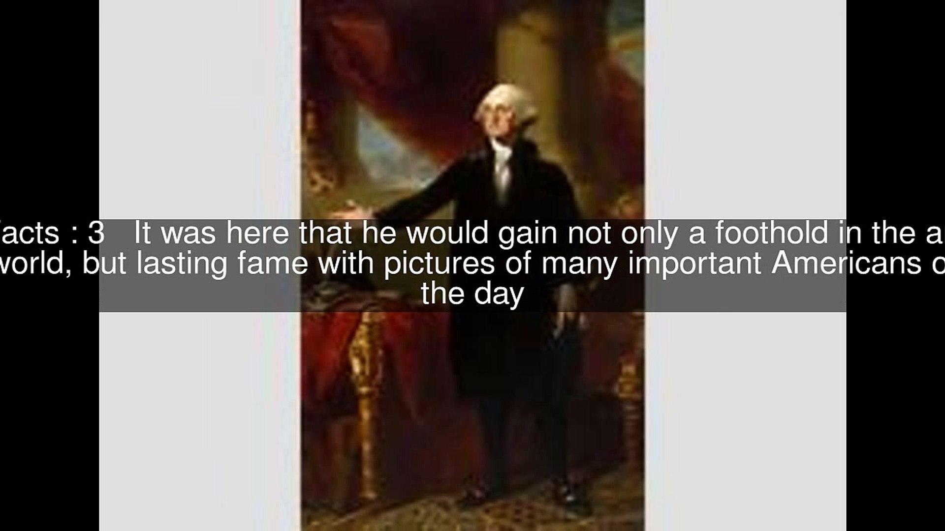New York and Philadelphia of Gilbert Stuart Top 13 Facts