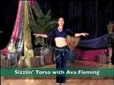 Belly Dancing   Sizzling Torso Ava Fleming  Hot  Desi Private Mujra HD