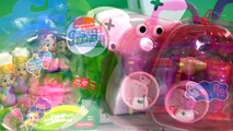 Play Doh Bubble Guppies Molly & Nurse Peppa Pig Medical Case at the Mermaids Check-Up Cent
