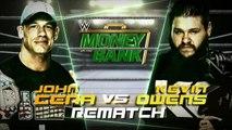 John Cena vs Kevin Owens | Money In The Bank 2015 Español Latino ᴴᴰ