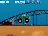 Monster Truck Obstacle Course Level 1-8 Walkthroug
