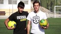 Como controlar un pase fuerte en un partido de Fútbol o Futsal/Fútbol sala, control del balón/pelot