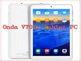 Onda V701s Tablet PC 7.0 Inch Andriod 4.2 Allwinner A31s Cortex A7 Quad Core 1.5GHz 1024*600 IPS 2160P 512MB RAM 8GB ROM HDMI-in Tablet PCs from Computer