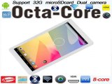 free shipping 10 inch  AllWinner A83t Octa Core HDMI Bluetooth4.0 1GB Ram 16GB Rom Adroid 4.4 Dual Camera tablet-in Tablet PCs from Computer