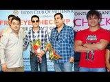 Vivek Oberoi & Jimmy Sheirgill @ free eye camp | Western India Film Producers Association