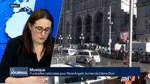 Funérailles nationales pour René Angelil, le mari de Céline Dion