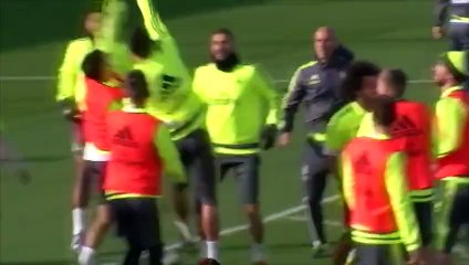 Zidane «dans son élément» à la tête du Real Madrid