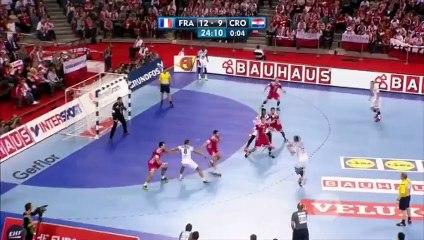 Euro de handball: Le but incroyable de Thierry Omeyer, le portier des Bleus