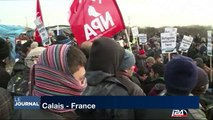 2000 personnes manifestent en soutien aux migrants à Calais