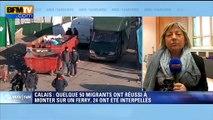 """La maire de Calais dénonce des événements """"complètement irresponsables"""""""