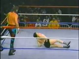 Jake Roberts in action   Championship Wrestling May 3rd, 1986